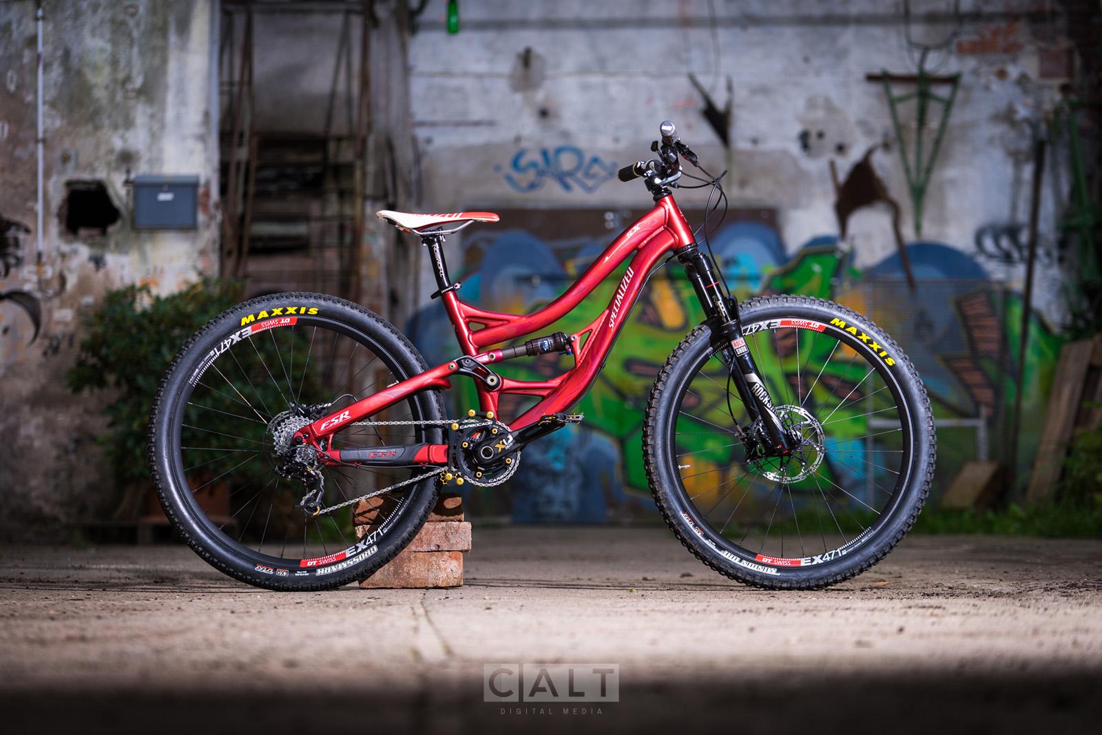 Custom Bike Fahrrad-Fotoshooting (TfP)