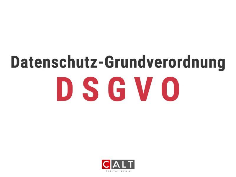 DSGVO – Ein Thema, dass jeden betrifft!