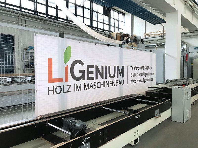 Werbebanner für LiGenium GmbH