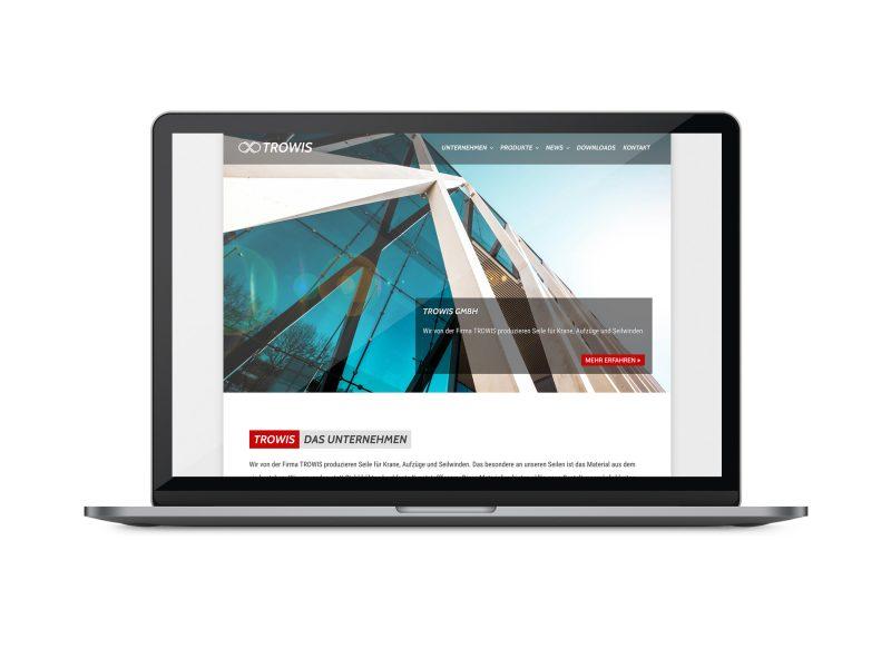 Neue Website für TROWIS GmbH