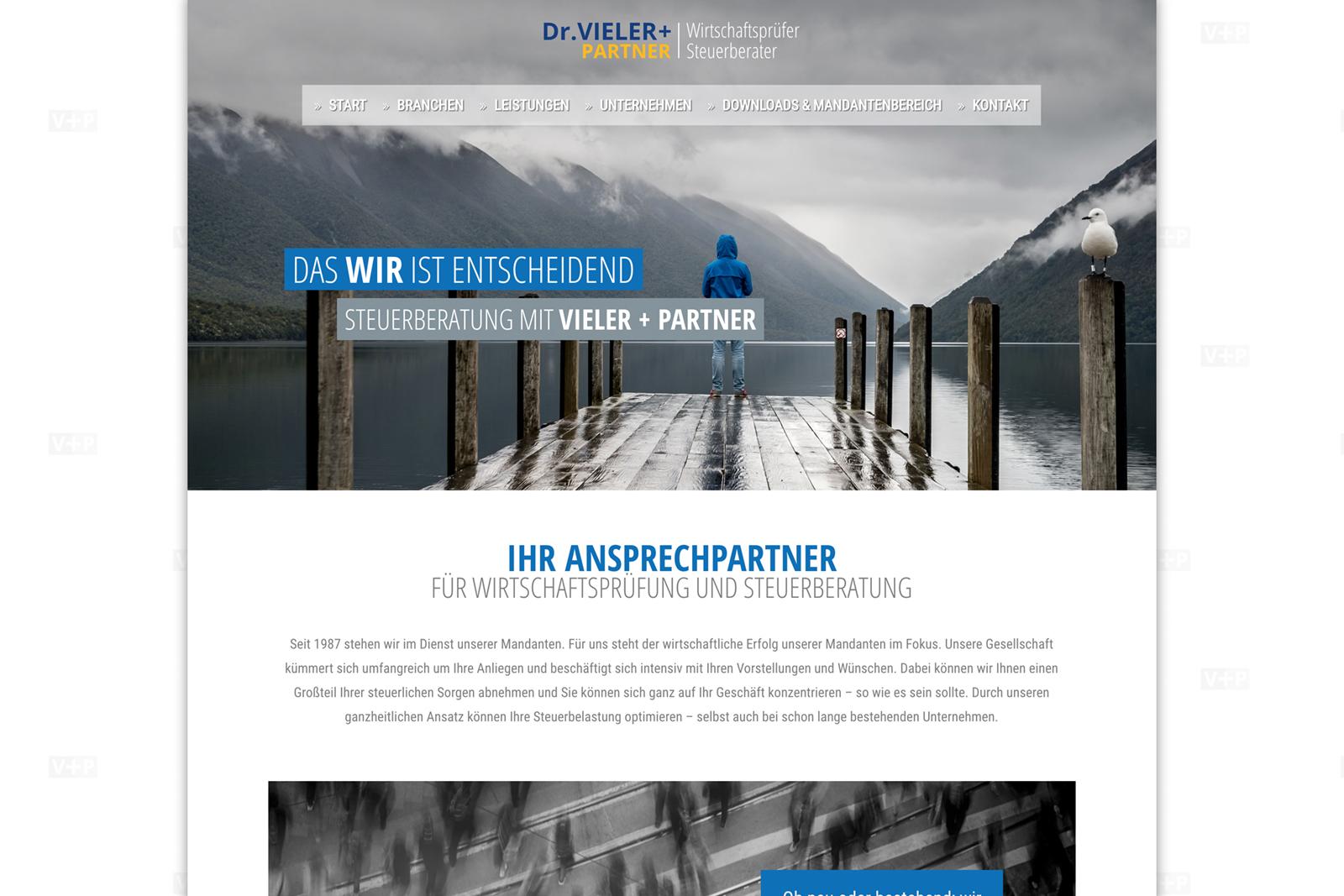 Neue Website für Dr. Vieler & Partner GbR (im Aufbau)