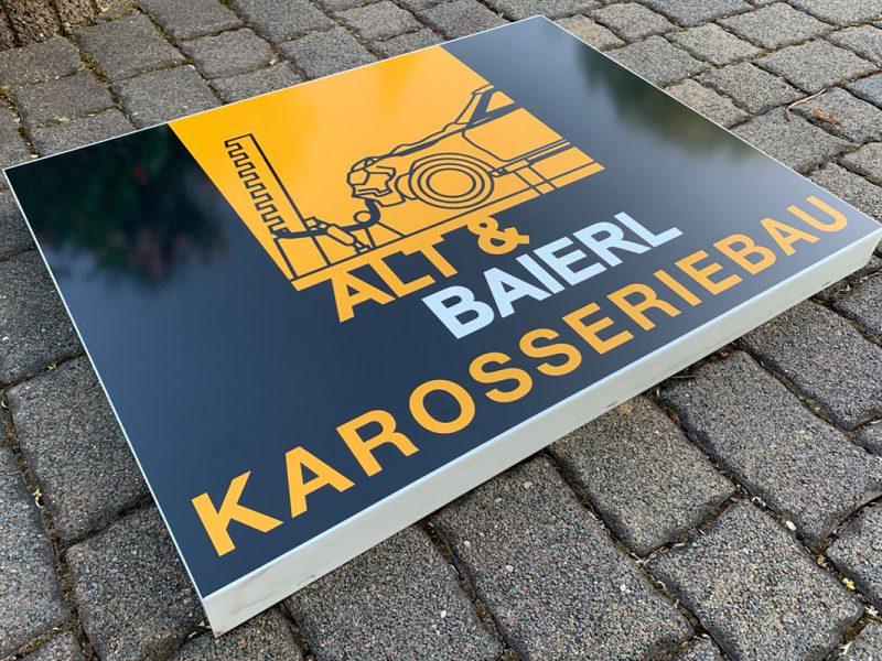 Leuchtkästen-Folierung für Alt & Baierl GbR