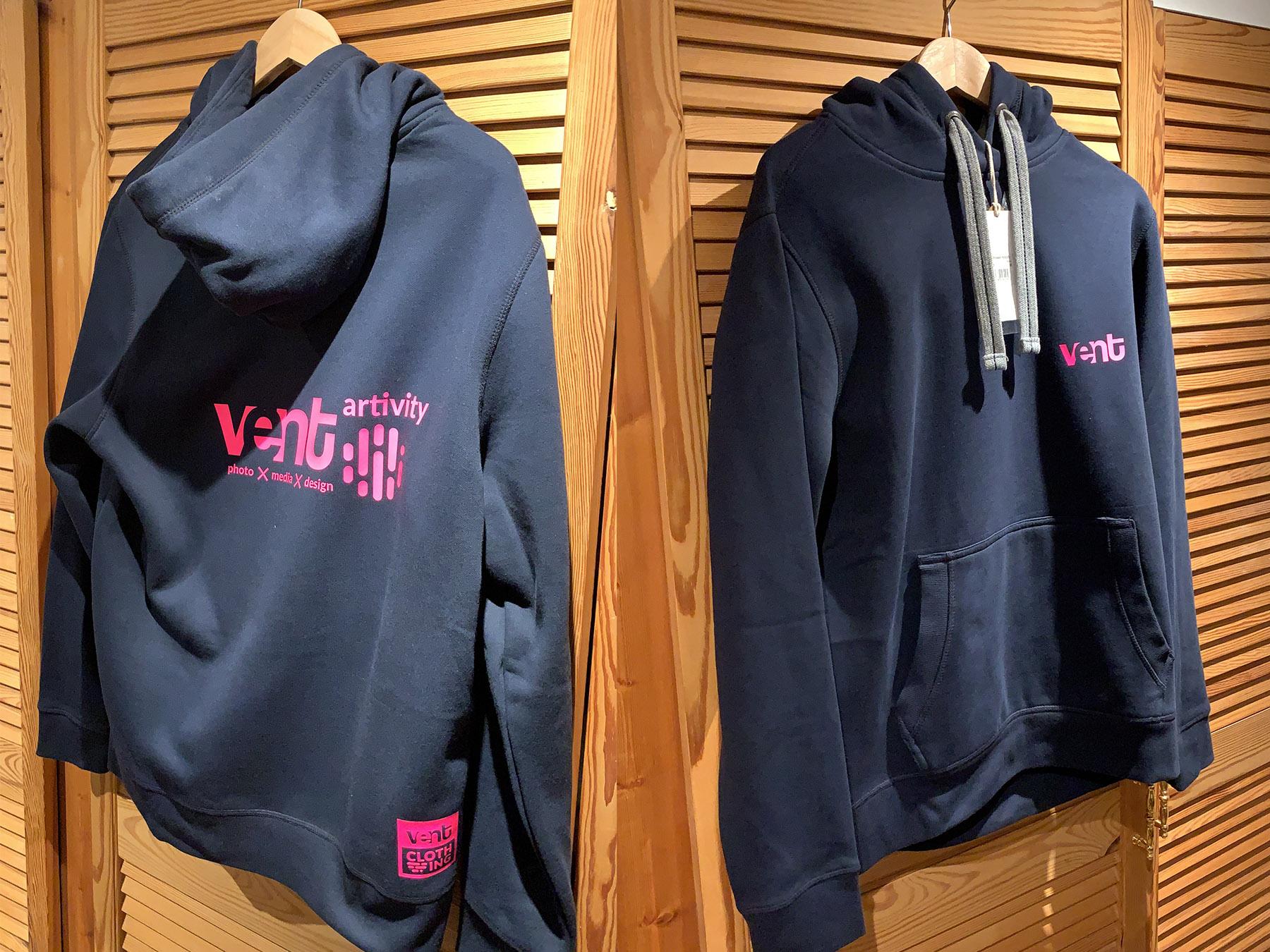 Hoodie & Shirt Transferdruck für VENT Artivity